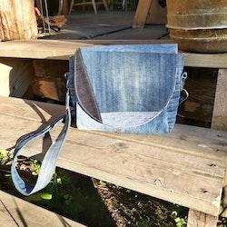 Handväska - Jeans - 100% återanvänd