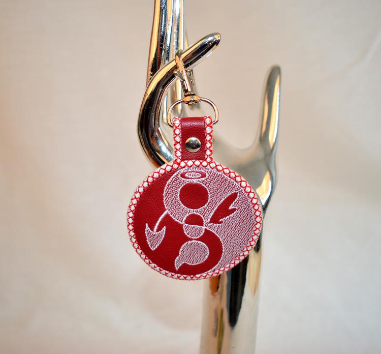Nyckelring - Angel / Devil