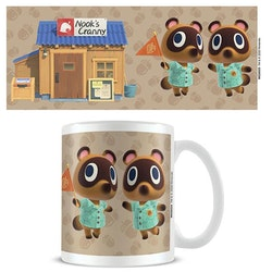 Animal Crossing mugg - Nooks Cranny