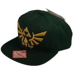Zelda keps - grön  *** Snapback ***