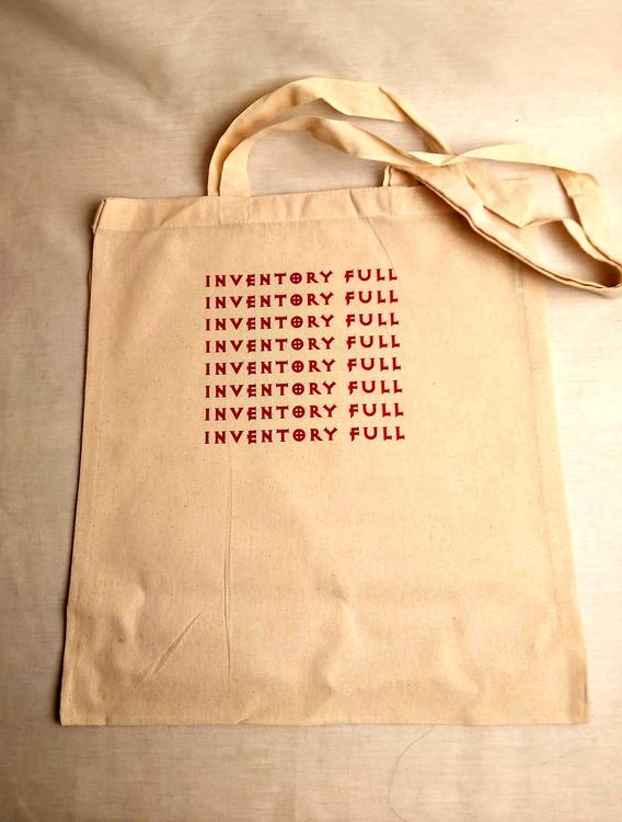 Inventory Full - tygpåse