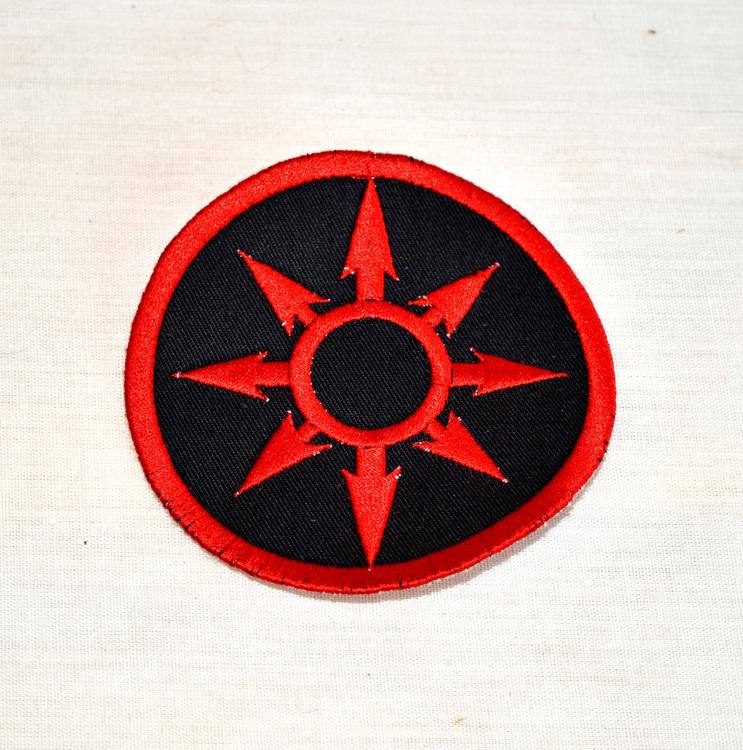 Tygmärke - Chaos logo - Warhammer