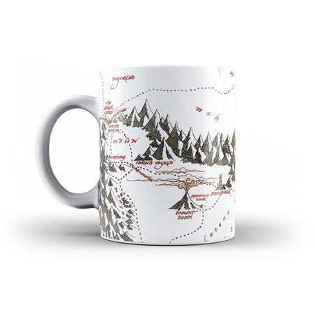 Lord of the Rings mugg - Map of Mordor