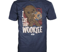 Star Wars POP! t-shirt - I like that Wookie!