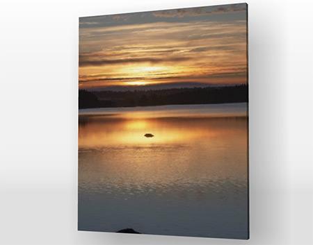 Canvastavla soluppgång