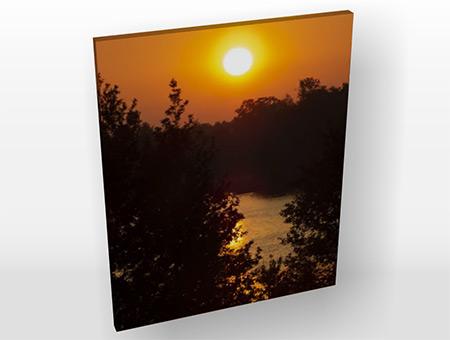 Canvastavla solnedgång