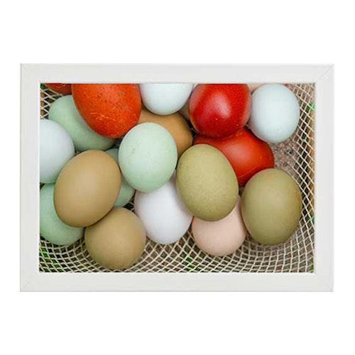 Ägg vit ram