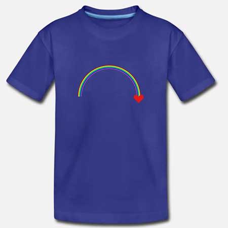 T-shirt Bomull Barn fler färger och motiv