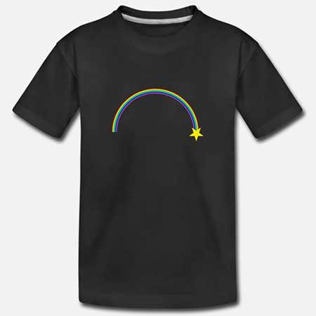 T-shirt Bomull Tonår fler färger och motiv