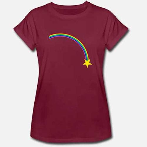 T-shirt Oversize Dam fler färger och motiv