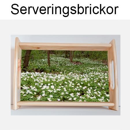Serveringsbrickor