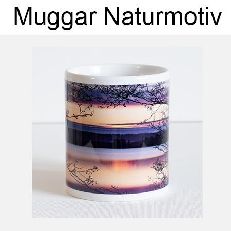 Muggar med naturmotiv