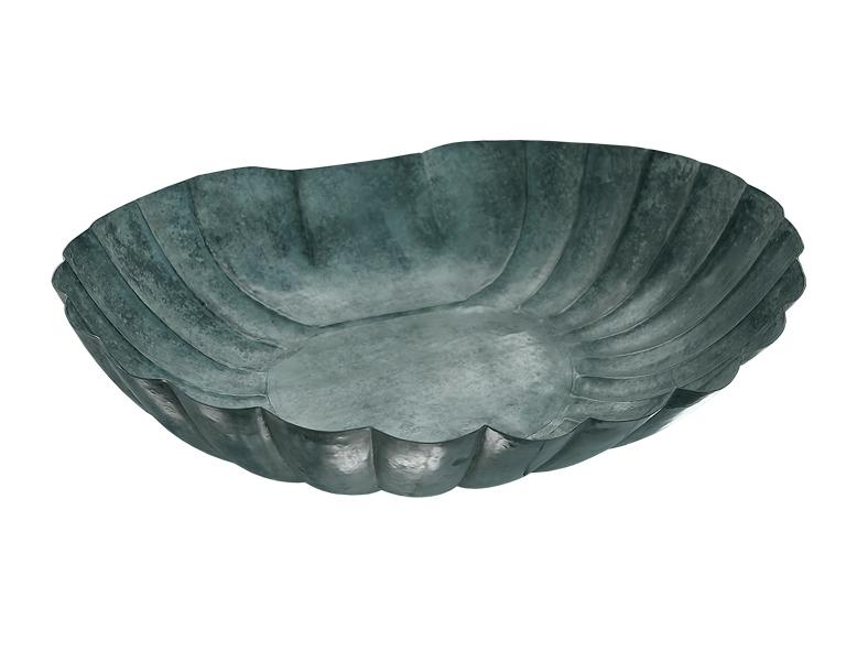 Snäckskal 60 cm för fontäner gjort i brons