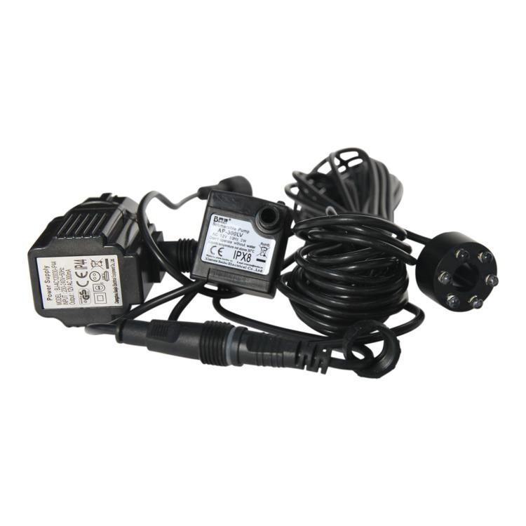 Pump, 0150 l/tim , 12 volt,  ljus