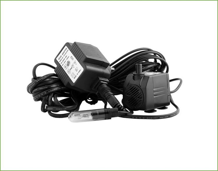 Pump 350l/tim, 12 volt, LJUS