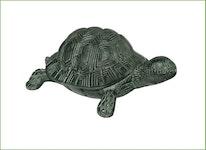 Sköldpadda i brons som fontän