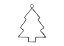 Julpynt - GRAN - handgjuten i tenn, stämplade Munka