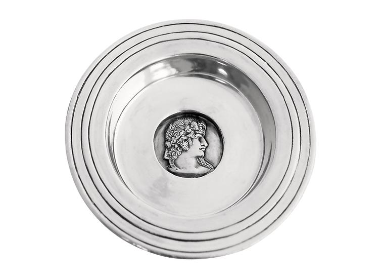 Athena, skål i tenn