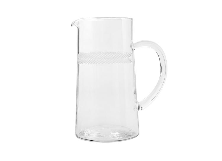 Lagerkans, tillbringare i handgraverat glas från Munka Swedens