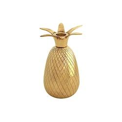 Ljusstake, ananas, 14,4 cm, mässing