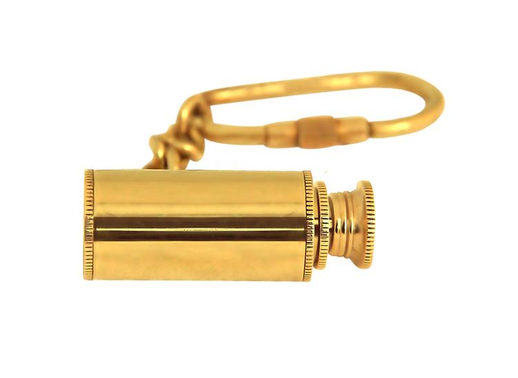 Nyckelring med tubkikare