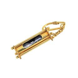 Nyckelring med timglas