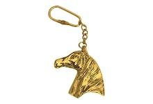 Nyckelring i form av hästhuvud
