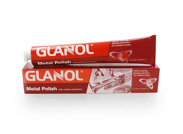 GLANOL Metallpolish (100 ml kräm)