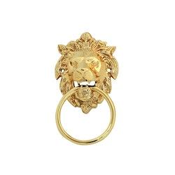 Dörrkläpp i form av lejonhuvud, mindre