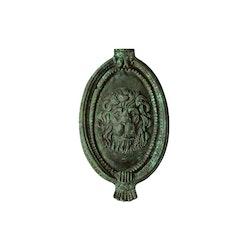 Dörrkläpp med lejonmaskaron i brons