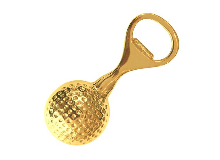 Flasköppnare, i form av golfboll
