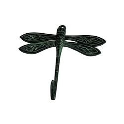 Trollsländekrok, 15 cm, grön