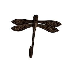 Trollsländekrok, 15 cm, brun