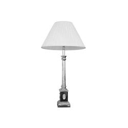 Lampa med epåletter i nysilver