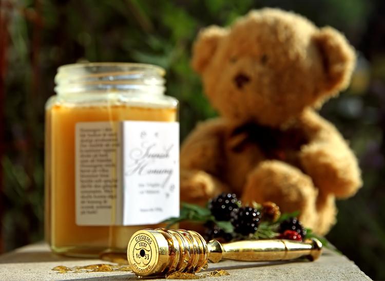 Honungsslev i mässing, Gusums Messing