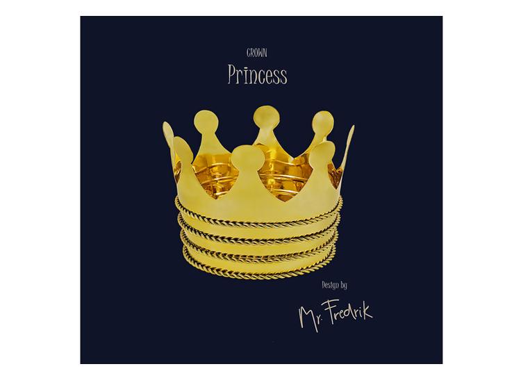 """Kruka i mässing """"Princess"""""""
