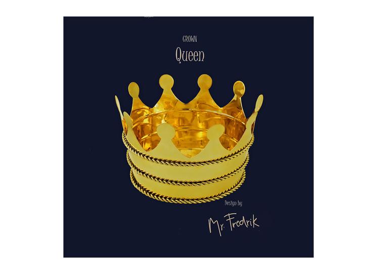 """Kruka i mässing """"Queen"""""""