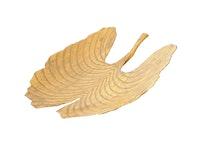 Fat, handmålad plåt, 43,5 cm, hårdlackat, guldgult