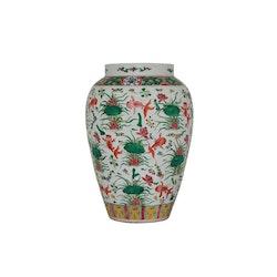 Urna, 41 cm, guldfisk, Ming dynastin