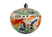 Bojan, 30 cm, Chinese Famille Rose