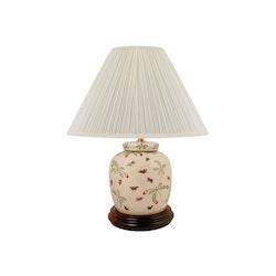 Lampfot i porslin, 17,5 cm, bär och bin