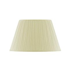 Lampskärm, oval 28 cm, antikvit, polyester