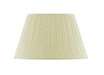 Lampskärm, oval, 45 cm, antikvit, polyester