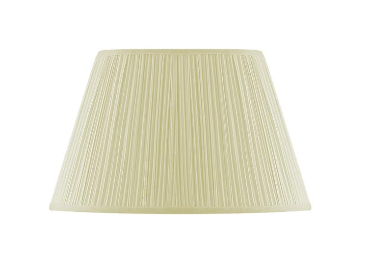 Lampskärm, oval 40 cm, antikvit, polyester