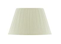 Lampskärm, oval, 40 cm, vit, polyester