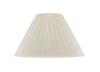 Lampskärm, rund, 50 cm, vit, polyester