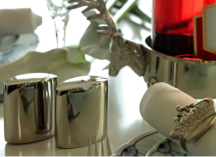 Salt och pepparströare annorlunda design