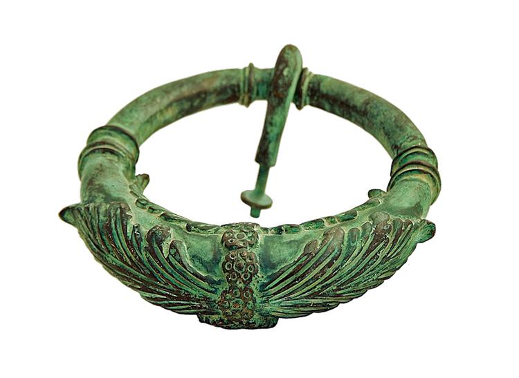 Dörrkläpp, 20 cm, antikgrön