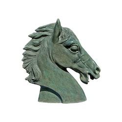 Hästhuvud i brons 30 cm