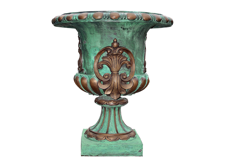 Urna 75 cm, i brons, med grönpatinering, Mr Fredrik Collection